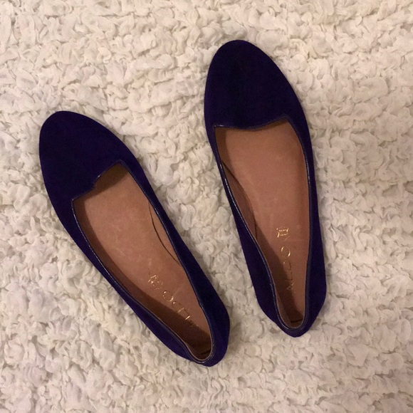 05447d67342 ALDO Dark Purple Loafers  NEVER WORN
